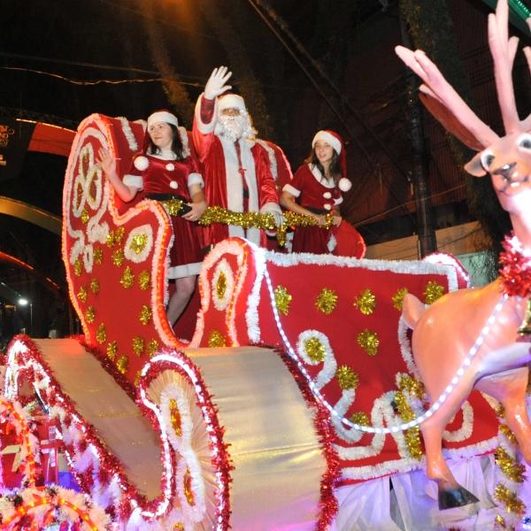 Primeiro Desfile de Natal acontece neste sábado