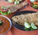 Comida típica do município: Peixe Frito
